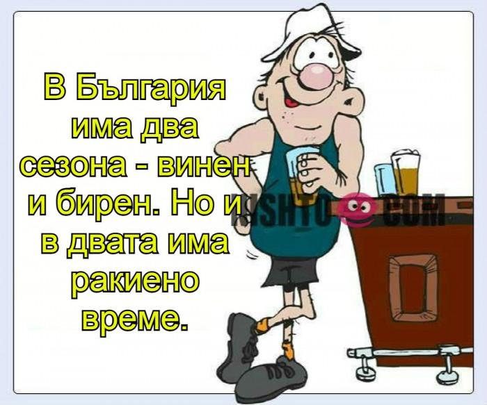 Вицове: В България има два сезона