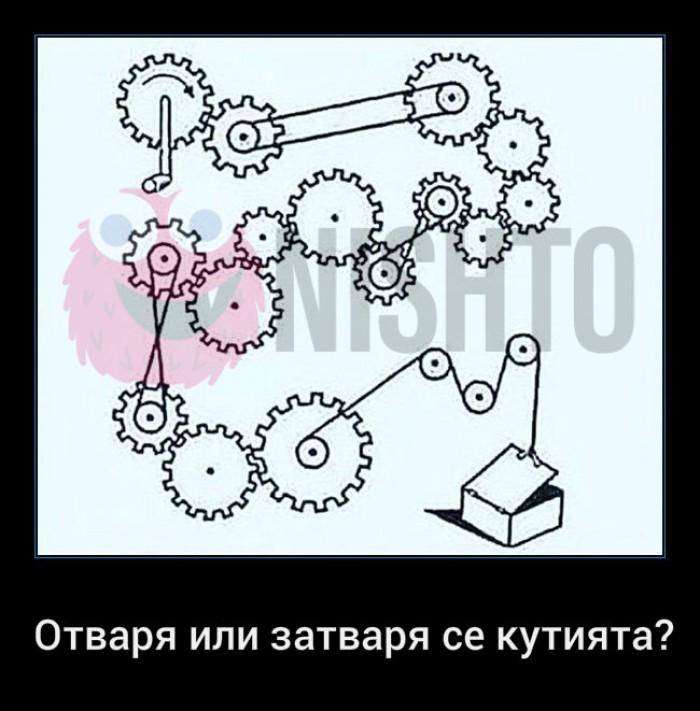 Вицове: Отваря или затваря се кутията