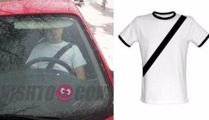 Вицове: Караш без колан