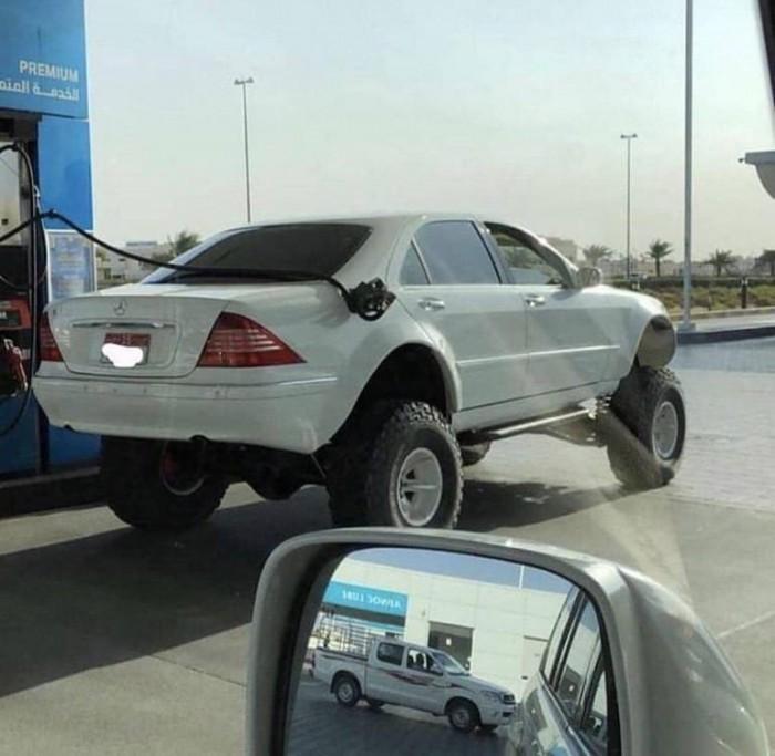 Вицове: Mercedes